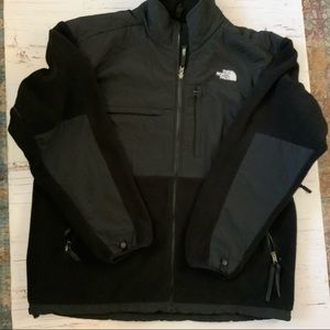 The north face Polartec fleece nylon jacket XXL